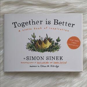 """""""Together Is Better"""" Hardback Book"""